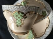 CAREWORN Aynsley Victorian cup & saucer - beautiful. (1)